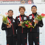 Japan sweep the podium at the 2012 Tateyama ASTC Triathlon Asian Championships