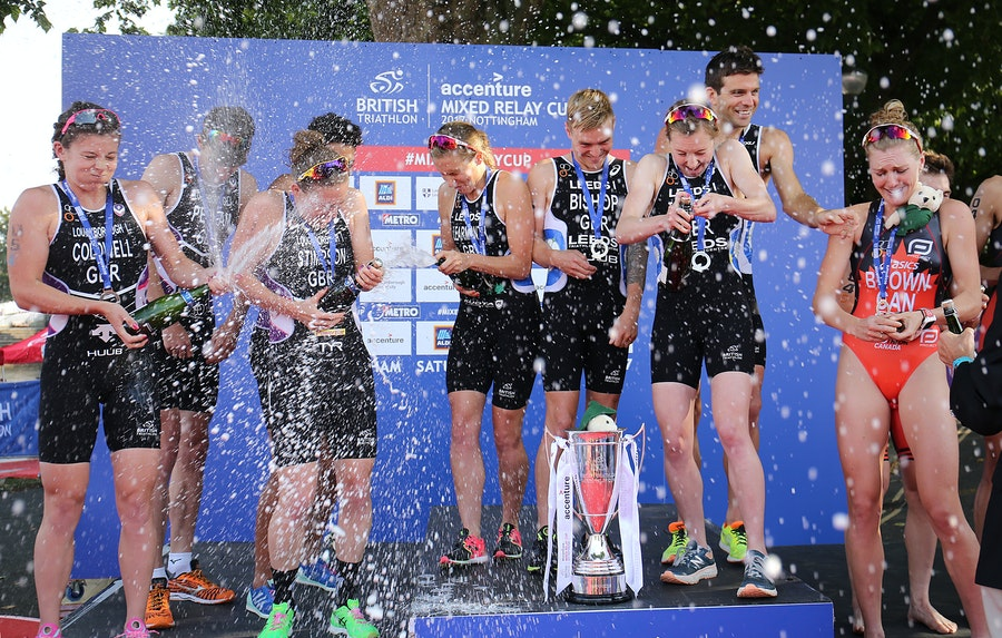 Leeds lift first ever Accenture British Triathlon Mixed Relay Cup