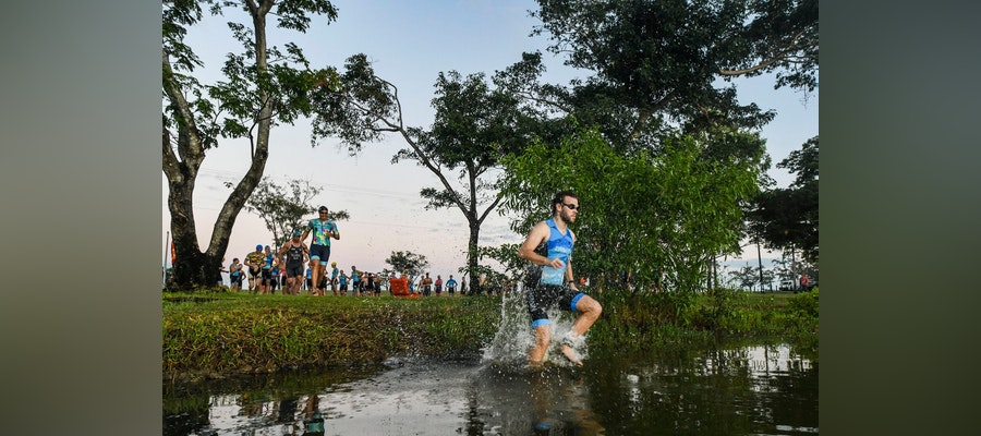 Darwin stages first triathlon club event in Australia under new normality