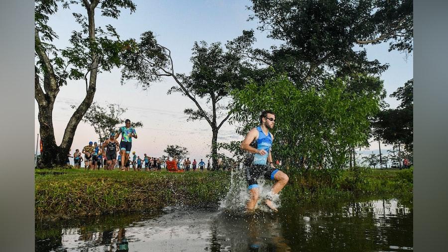Darwin stages first triathlon club event in Australia under new normality