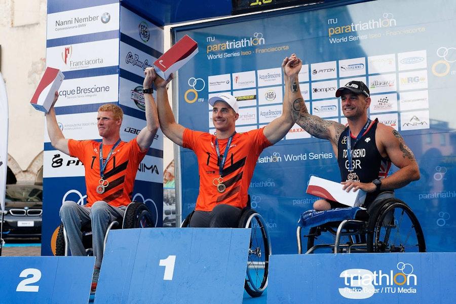British paratriathletes claim four gold medals in Iseo