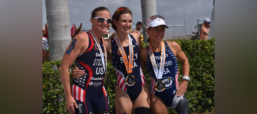 ParaTri season starts with Rio 2016 Paralympic Champions claiming victories