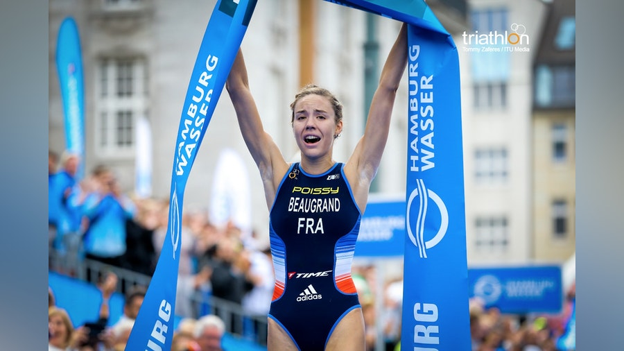 Beaugrand powers to first WTS gold thanks to inspired run in Hamburg