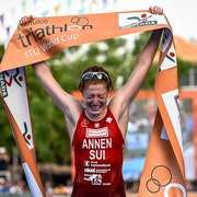 Annen earns first-time World Cup win