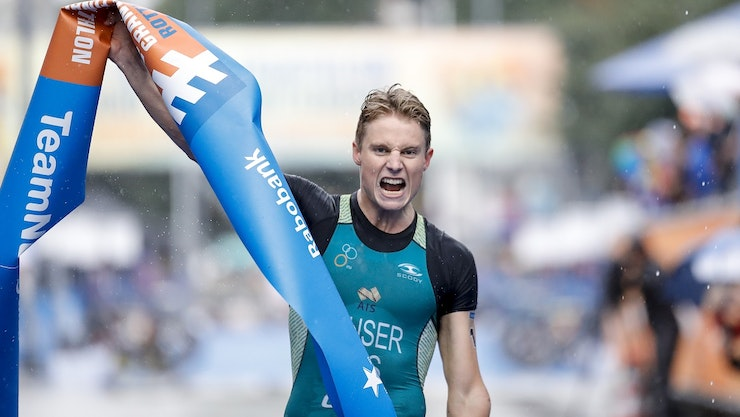 Aussie Matt Hauser dominates in Rotterdam to win Junior World Crown