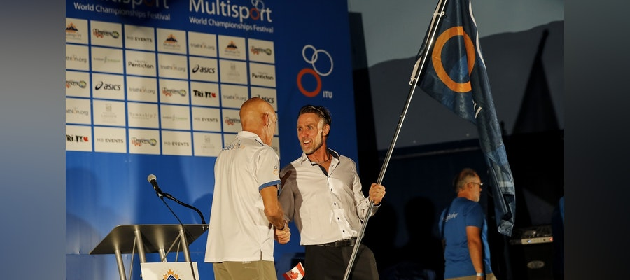 Multisport World Championships torch passed to Fyn after successful Penticton event
