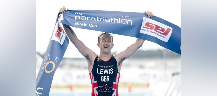 Andrew Lewis ends Paratriathlon season in style in Sarasota