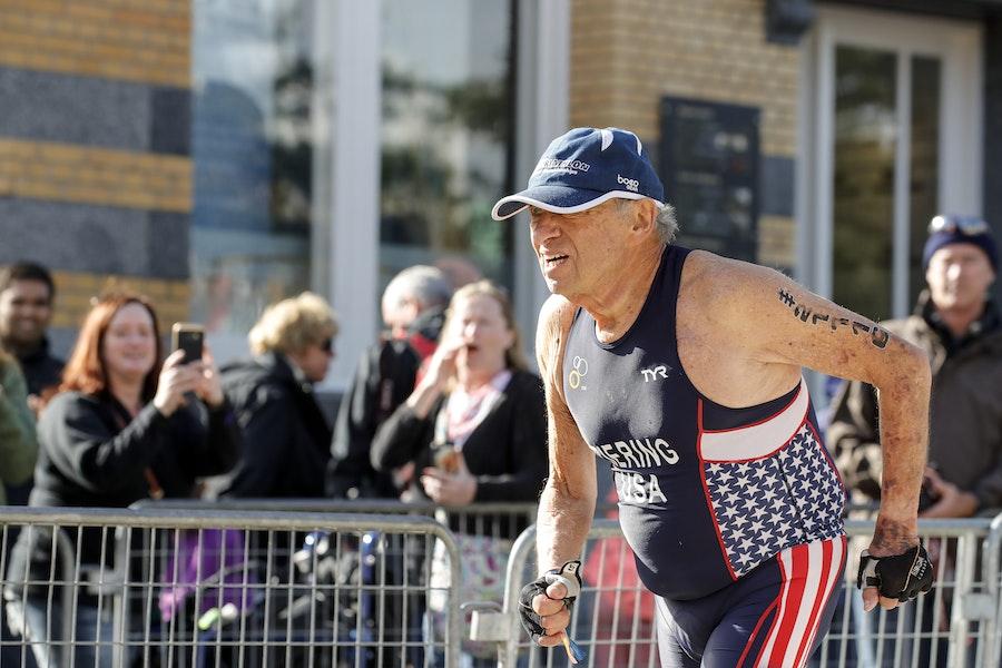 "Age is no barrier: 87-year-old ""Pokey"" Bill Ziering USA Triathlon Ambassador"