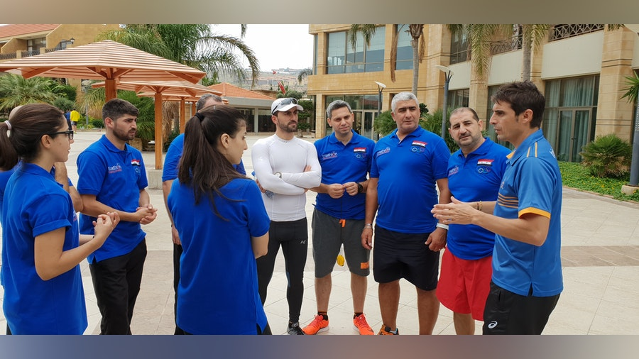 Triathlon helping to reconstruct the lives of Syrian athletes and coaches