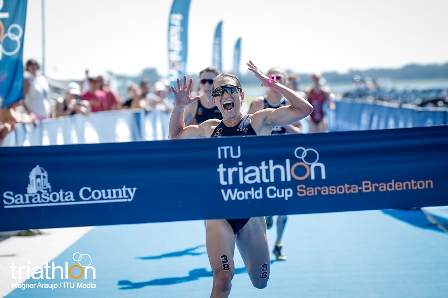 Tomlin and Luis Dominate Sarasota World Cup Duathlon race