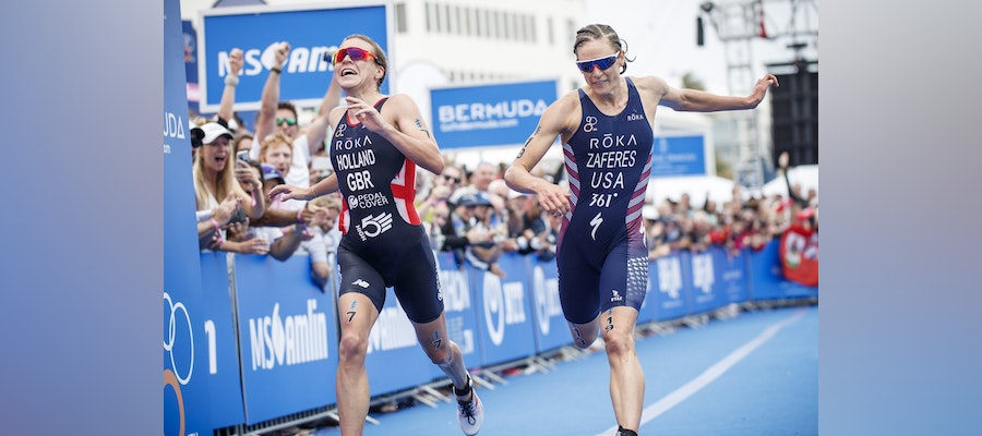 Zaferes and Holland to reignite their rivalry at WTS Bermuda with Hamilton's hero injured