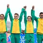 Brazil delivers mixed relay gold in the Pan American Games