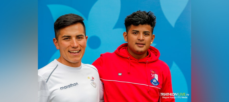 Athletes in the Pan American Games developing triathlon for the future