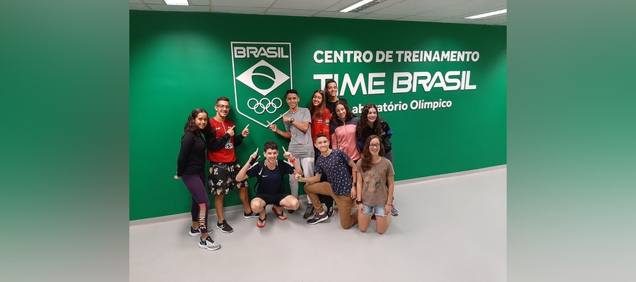 Youth development camp with Triathlon Brasil