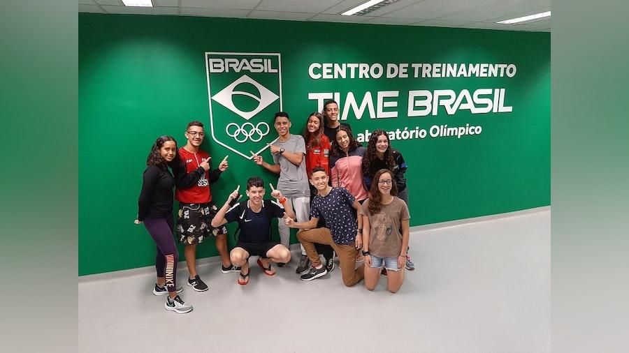 Youth development camp with Triathlon Brasil