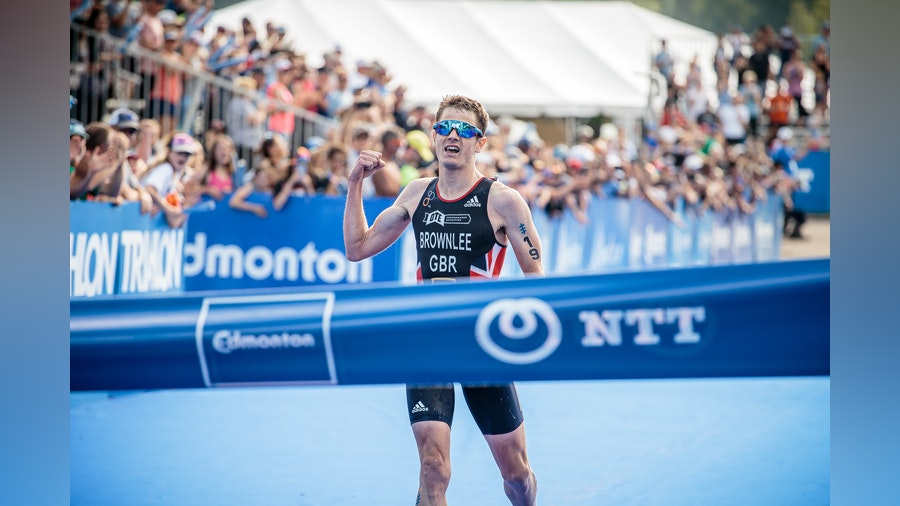 Jonny Brownlee comes back in style to claim WTS Edmonton