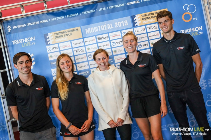 Athletes chatter ahead of WTS Montreal
