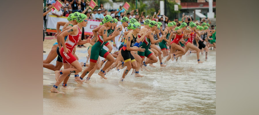 Final Olympic ranking points to be earned at World Triathlon Cup Huatulco