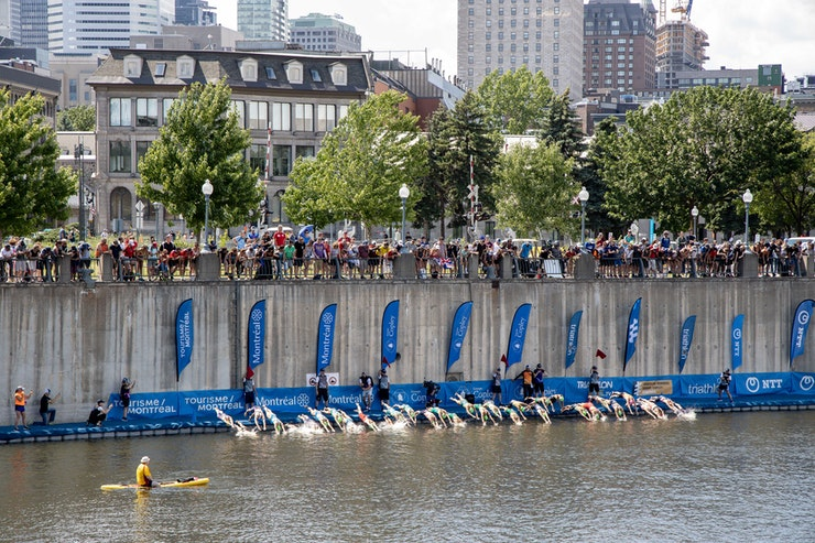 The 2020 Groupe Copley World Triathlon Montreal and Paratriathlon World Champs, postponed