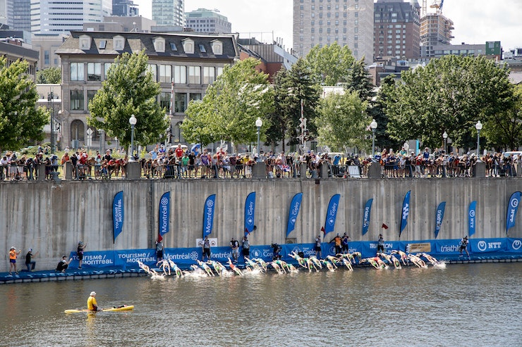 World Triathlon moves Montreal WTS and WPS to October 3-4