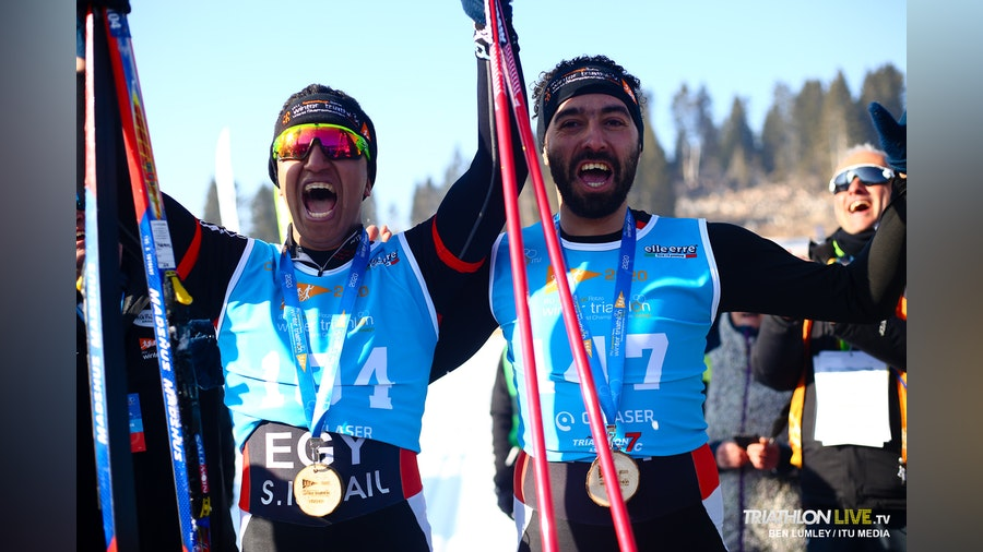 Egyptian triathletes put Africa on the Winter Triathlon map