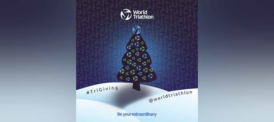 World Triathlon Tri Giving Holiday Campaign