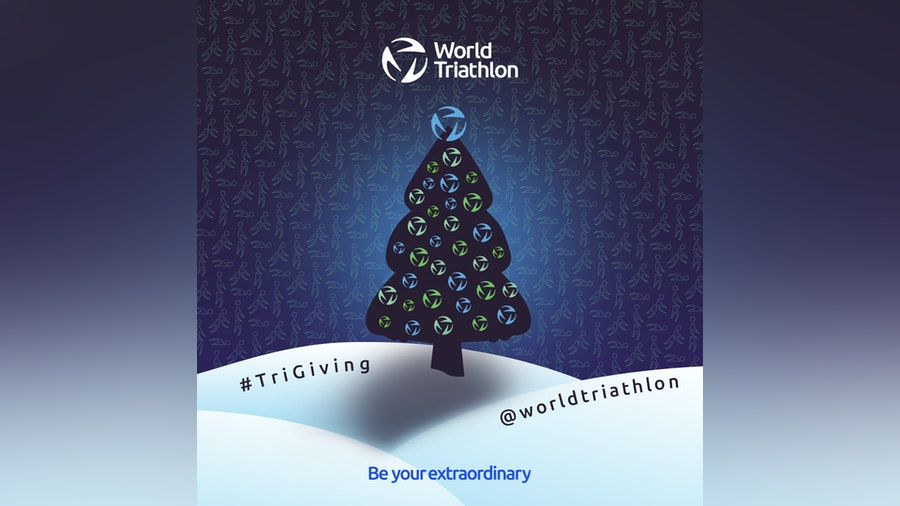 World Triathlon Tri Giving Holiday Campaign
