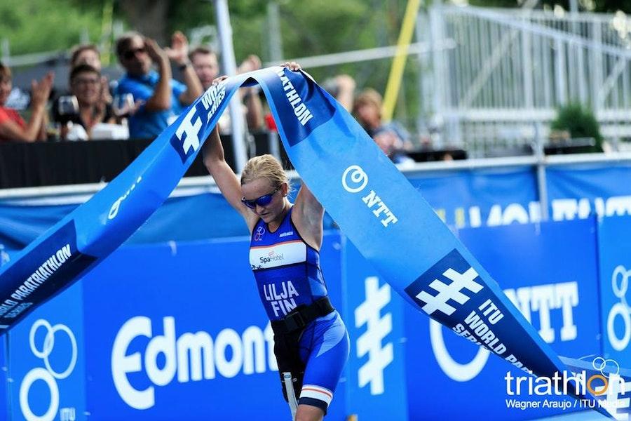 Liisa Lilja ends US dominance with WPSEdmonton win