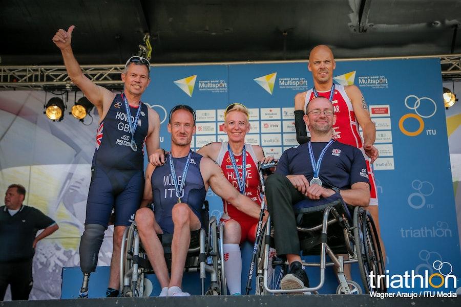 Success in the Sprint Duathlon World Championships in Denmark