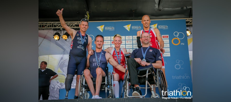 Success in the Sprint Duathlon World Championships in Denmark