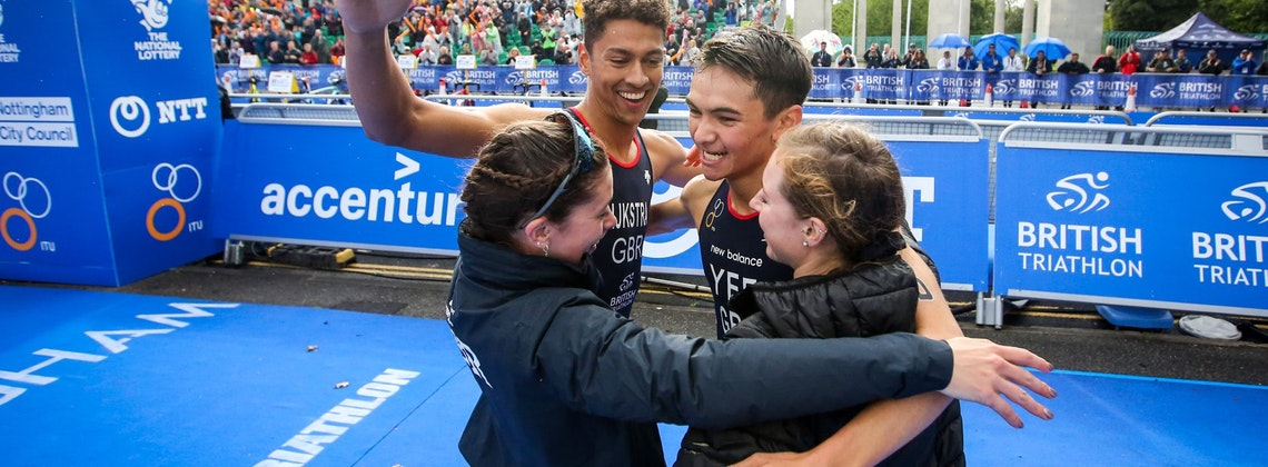 GB takes the glory on home soil in the Nottingham Mixed Relay