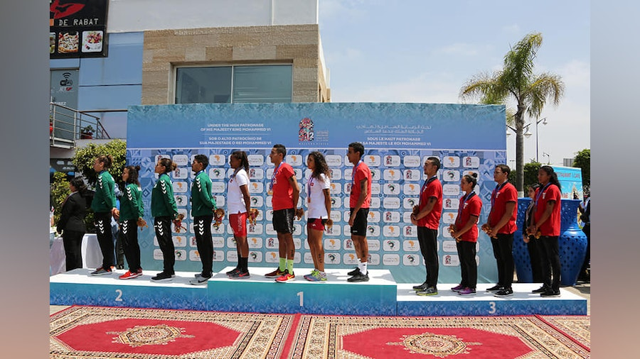 Triathlon shows its growth in the Rabat African Games