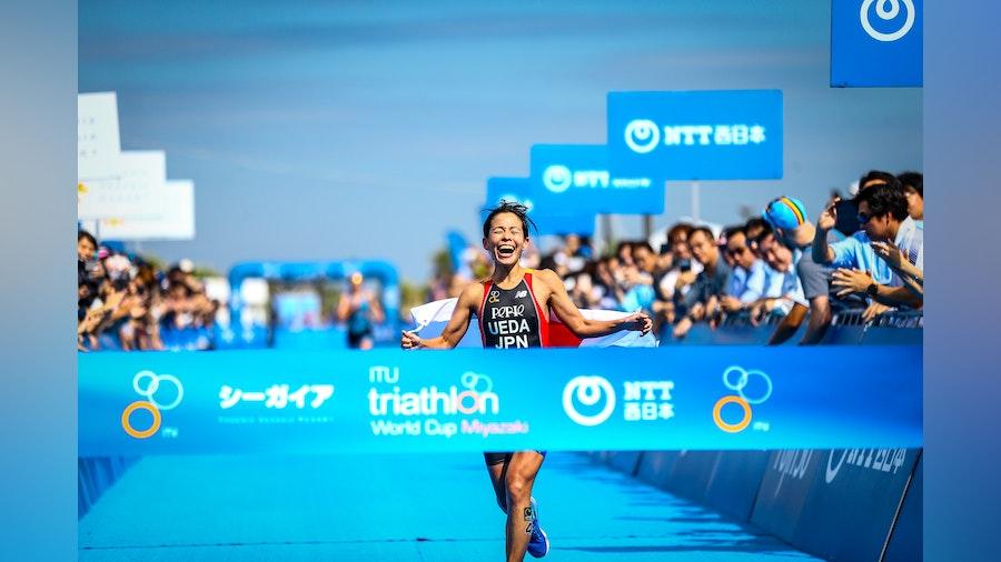 Ai Ueda and Matthew McElroy strike gold in Miyazaki