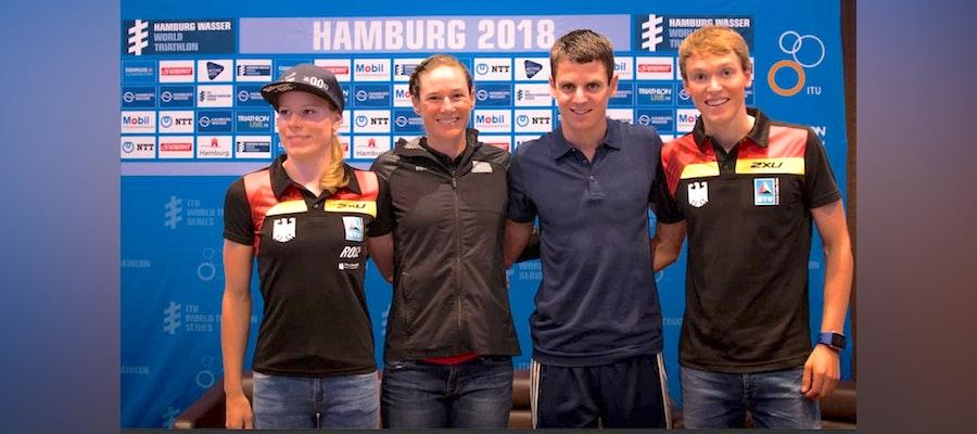 Athletes' chatter ahead of WTS Hamburg