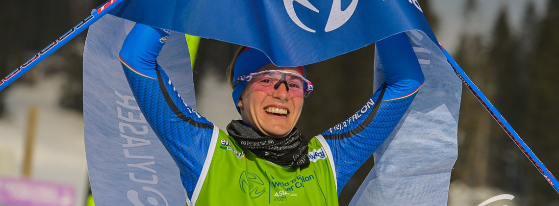 Maiden win for Mairhofer while Andreev claims another winter triathlon victory in Asiago