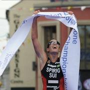 Spirig Repeats as European Champion