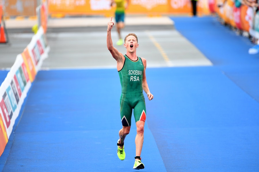 A perfectly executed race gives Henri Schoeman gold at the Commonwealth Games