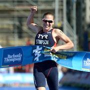 Jodie Stimpson smashes it in Auckland World Triathlon Series 2014