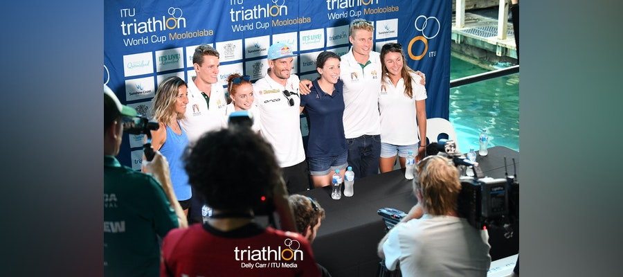 Elite presser ahead Mooloolaba World Cup