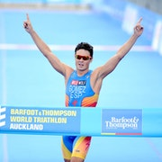 Javier Gomez (ESP) claims more gold in Auckland