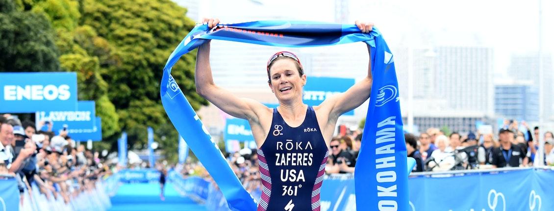 Zaferes leads a USA podium sweep in WTS Yokohama