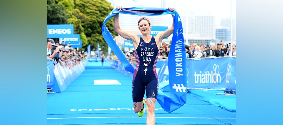Zaferes leads a USA podium sweep in WTS Yokohama
