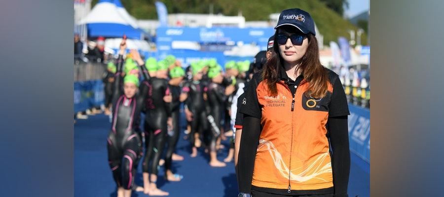 World Triathlon technical officials unite, the unsung heroes