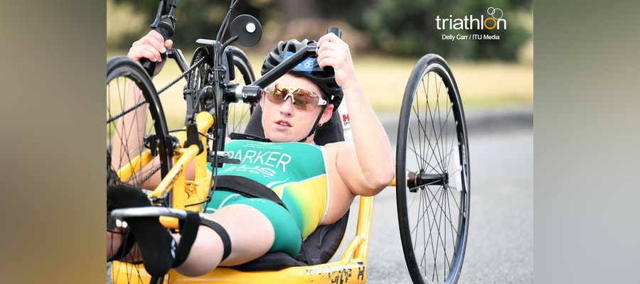 Lauren Parker, from elite triathlete to elite paratriathlete in nine months