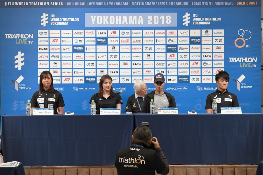 Athlete chatter ahead of #WTSYokohama