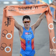 Gomez victorious at ITU World Cup Mooloolaba