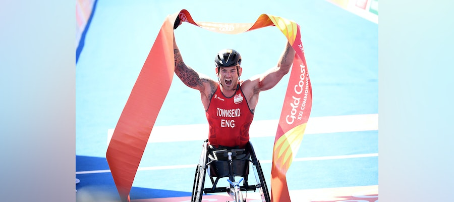 Townsend and Jones claim the first ever Commonwealth Paratriathlon titles