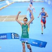 Australia's Aaron Royle too strong in 2012 Men's Under23 ITU World Championship