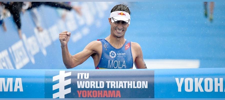 Mola repeats win in WTS Yokohama
