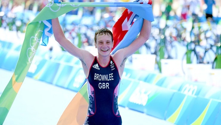 Alistair Brownlee (GBR) makes history with Rio triathlon Gold